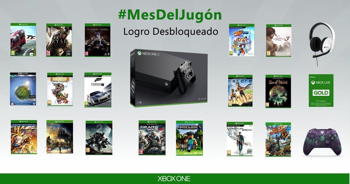 #MesdelJugón en Microsoft