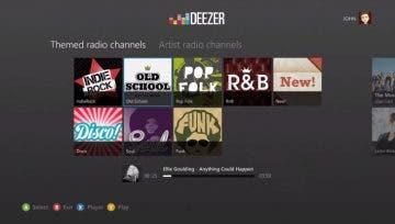 Deezer, un nuevo servicio de música en streaming, llega a Xbox One 20
