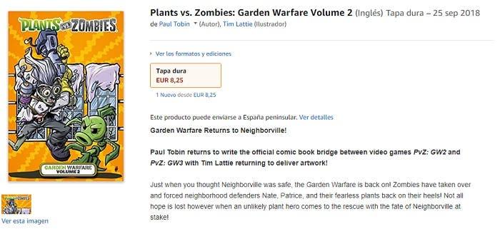 Plants vs. Zombies Garden Warfare 3 podría estar en desarrollo 2