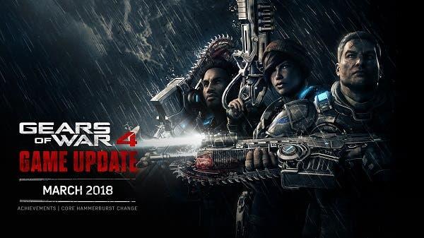 Llegan nuevos logros a Gears of War 4 con la actualización de marzo 1