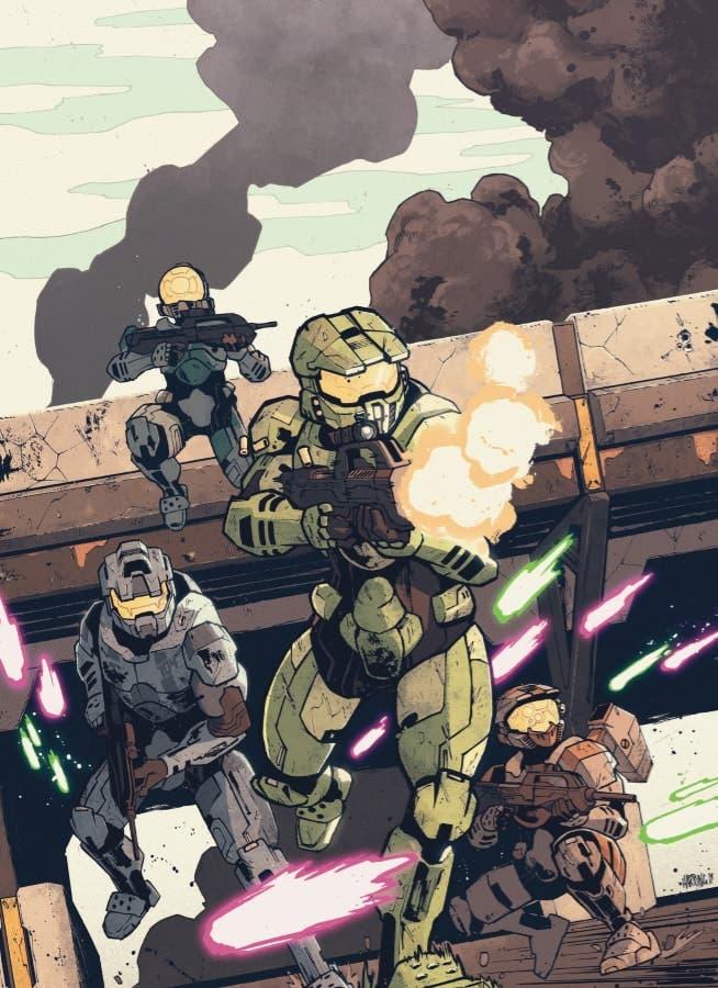 Llega Halo: Collateral Damage para contar las hazañas del Jefe Maestro 2