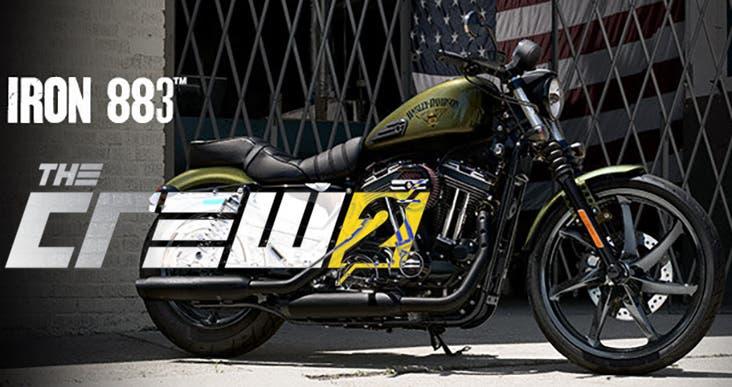 El nuevo trailer de The Crew 2 expone la Iron 883 de Harley Davidson 1