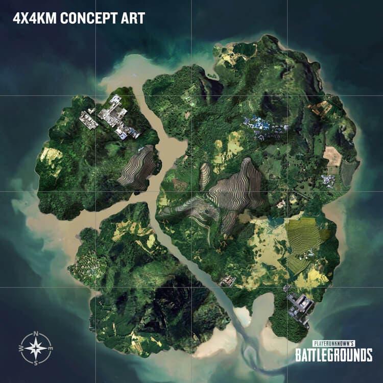 El tercer mapa de PUBG será una pequeña isla tropical 2