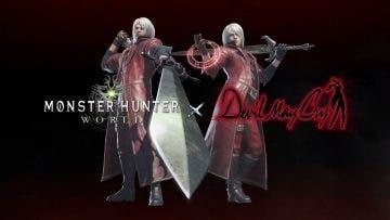 Monster Hunter World recibirá contenido de Devil May Cry 12