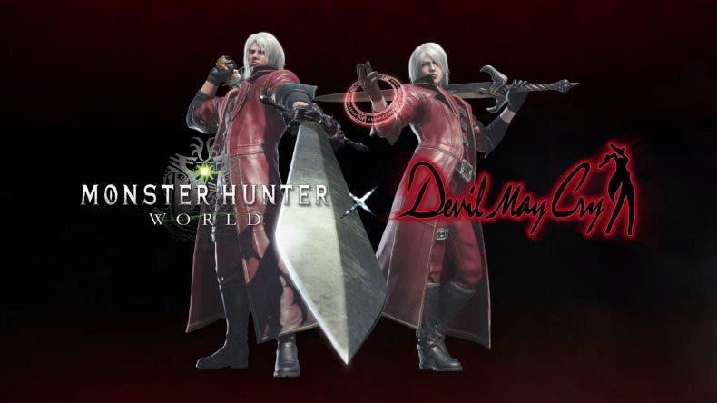 Monster Hunter World recibirá contenido de Devil May Cry 1