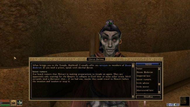 ¿Y si The Elder Scrolls VI se remontara a Morrowind? 2