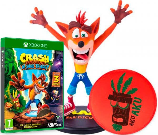Hazte con un impresionante pack de Crash Bandicoot N'Sane Trilogy + figura 2