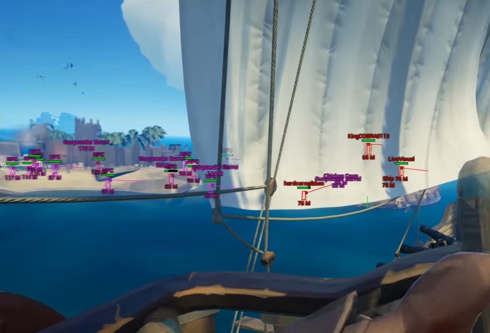 Los tramposos son los auténticos piratas de Sea of Thieves 2
