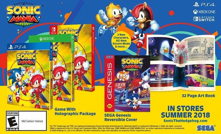 Anunciado Sonic Mania Plus, la edición física con nuevos contenidos 1