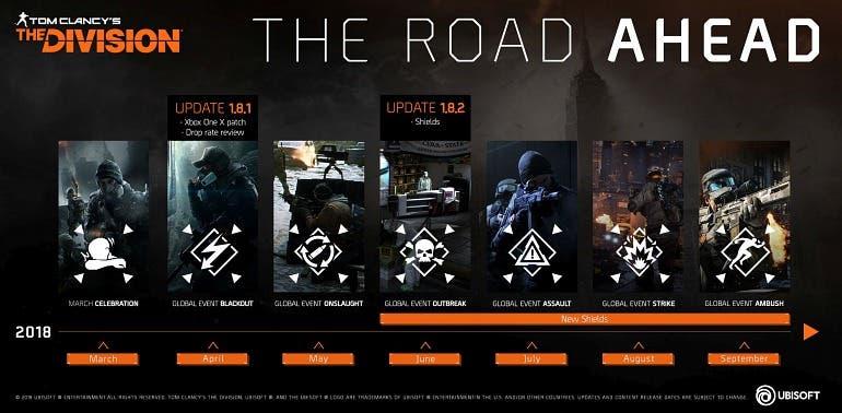 Ubisoft no abandonará The Division, presenta nuevos eventos y confirma soporte para Xbox One X 2