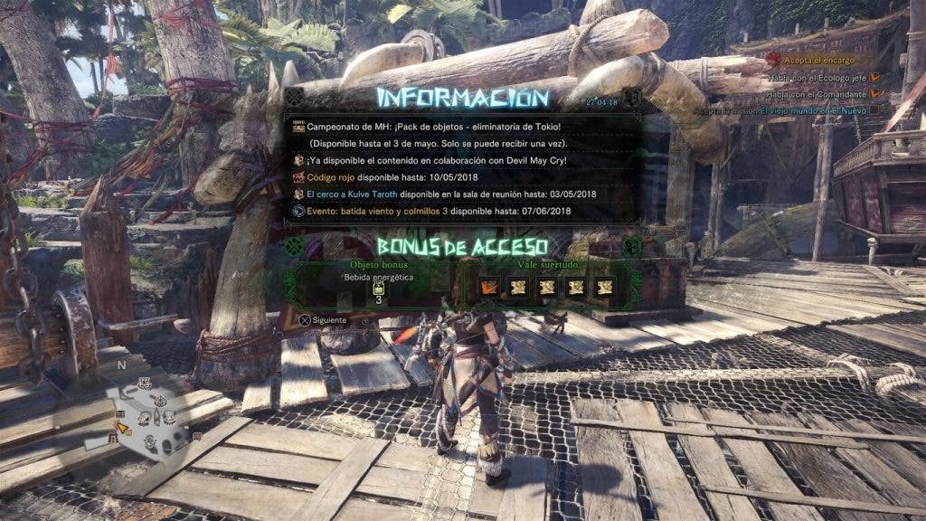 El evento de Monster Hunter World basado en Devil May Cry ya está disponible 2