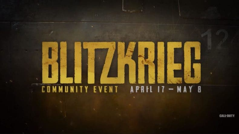 Ya está aquí Blitzkrieg, el nuevo evento de Call of Duty WWII 1