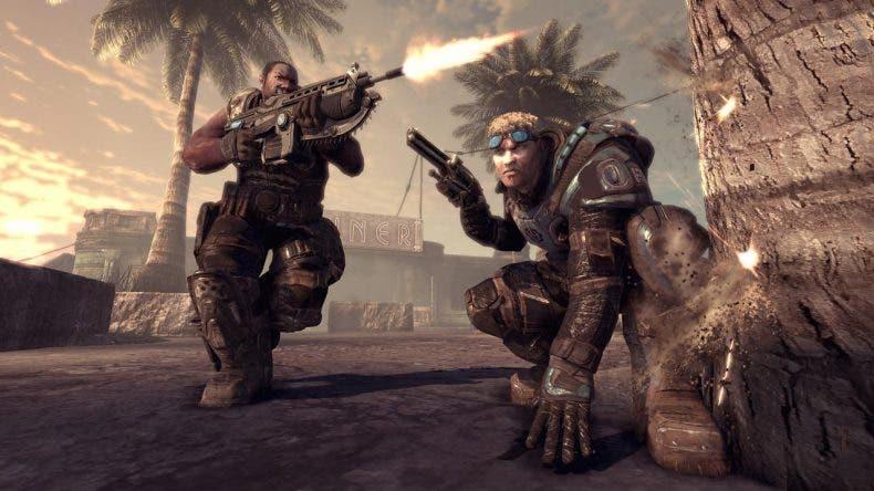 Comparativa gráfica de Gears of War 2 mejorado para Xbox One X 1
