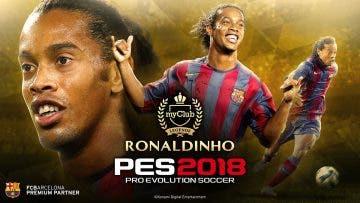 Konami presenta a Ronaldinho como nueva leyenda de PES 2018 2