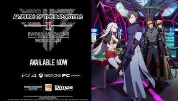 Ya disponible 'Emboscada de los Impostores', el primer DLC de Sword Art Online: Fatal Bullet 5