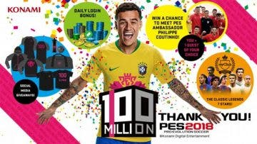 PES supera los 100 millones de copias vendidas y lo celebra por todo lo alto 3
