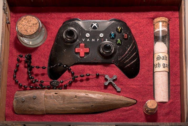 Esta es la impresionante Xbox One S de Vampyr 1