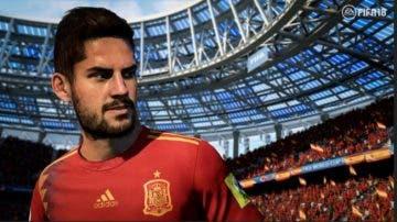 Así reacciona Isco a sus stats en FIFA 18 World Cup 6