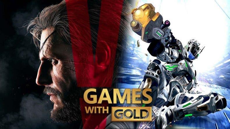 Ya disponibles Metal Gear Solid V y Vanquish gratis vía Games with Gold 1