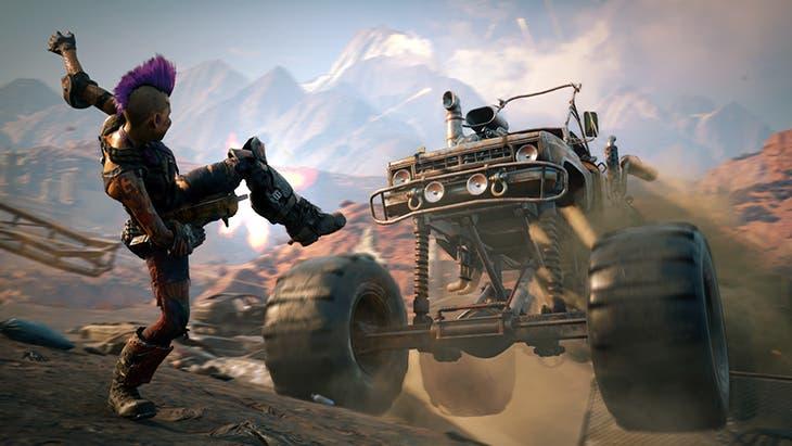 Rage 2 prioriza el framerate a los 4K en Xbox One X 1