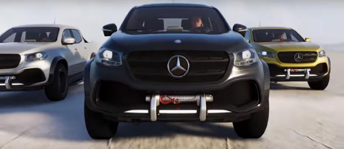 Se presenta el radical Mercedes Benz clase X en The Crew 2 1