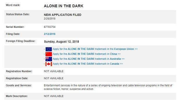 La marca Alone in The Dark ha sido renovada por Atari 2