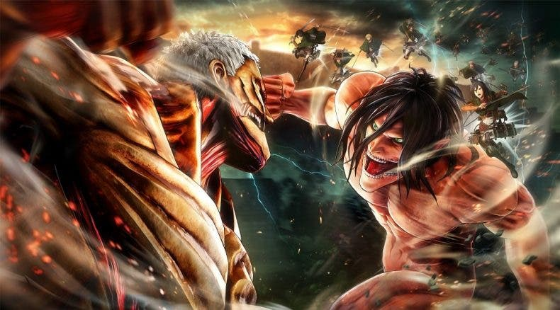 Koei Tecmo anuncia Attack on Titan 2: Final Battle