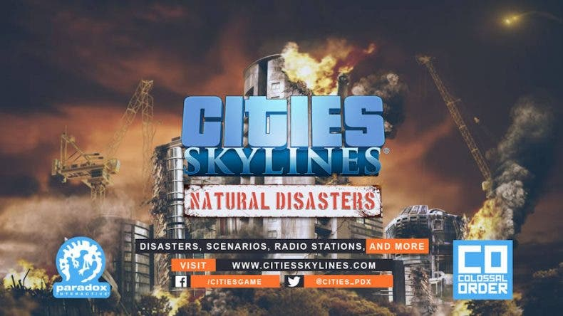 Cities: Skylines Natural Disasters llega a Xbox One este mes 1