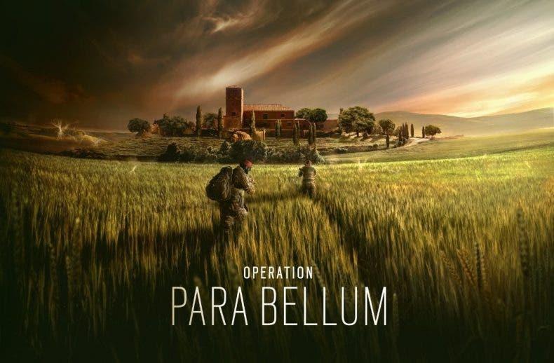 Primera información oficial de Operation Para Bellum de Rainbow Six Siege 1