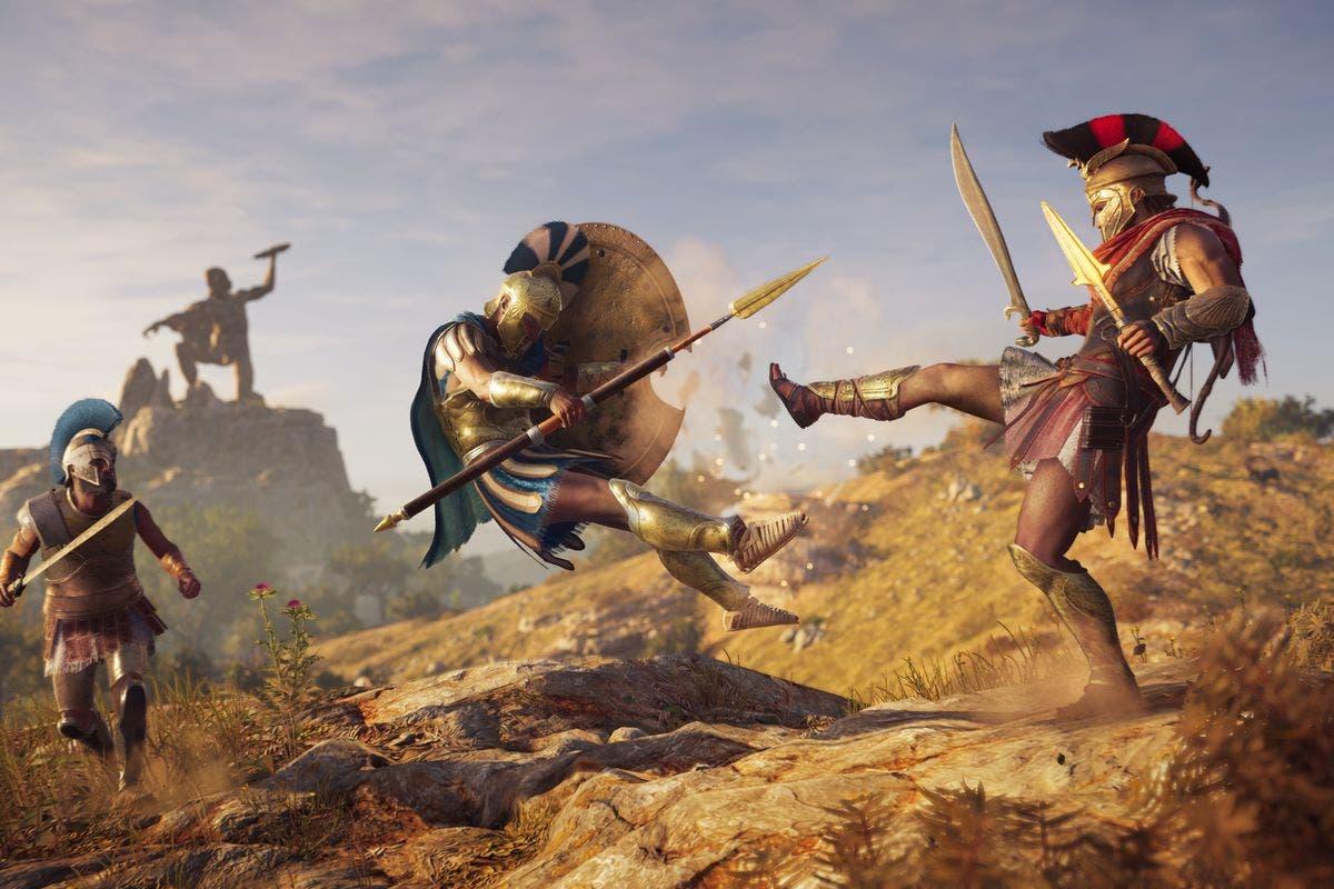 Nuevas informaciones sobre el sistema de combate de Assassin's Creed Odyssey 3