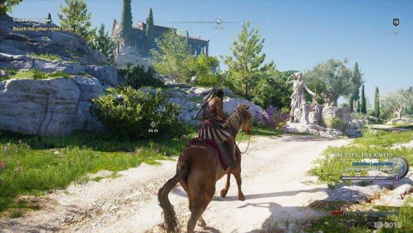 Esta es la vergonzosa censura de Assassin's Creed Odyssey en Oriente Medio 1