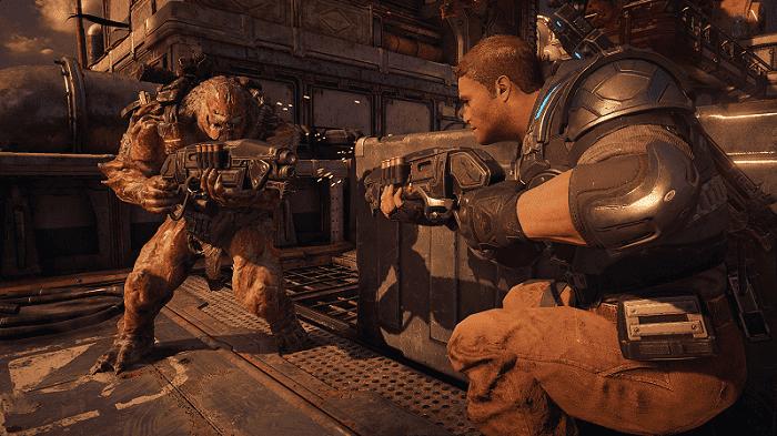 Así juega un invidente a Gears of War 4 1
