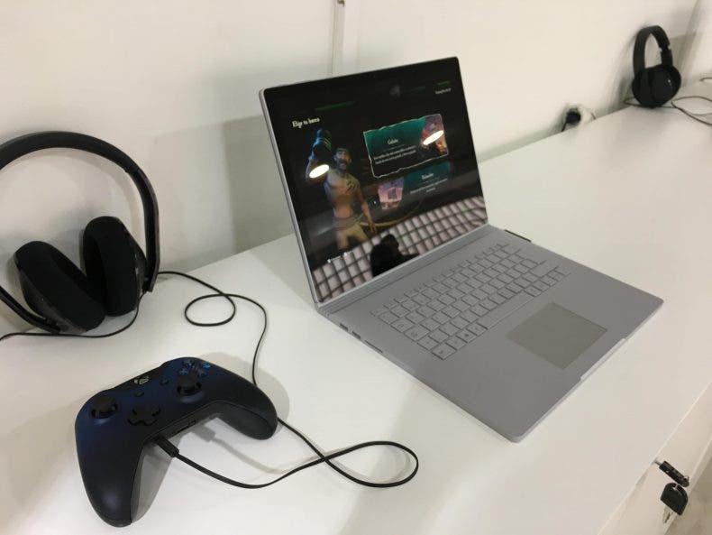 Impresiones de Surface Book 2 con juegos de Xbox One 1