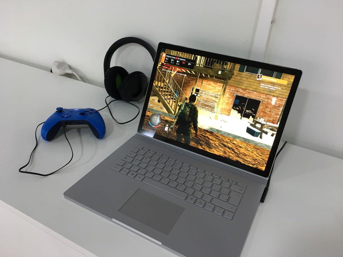 Impresiones de Surface Book 2 con juegos de Xbox One 2