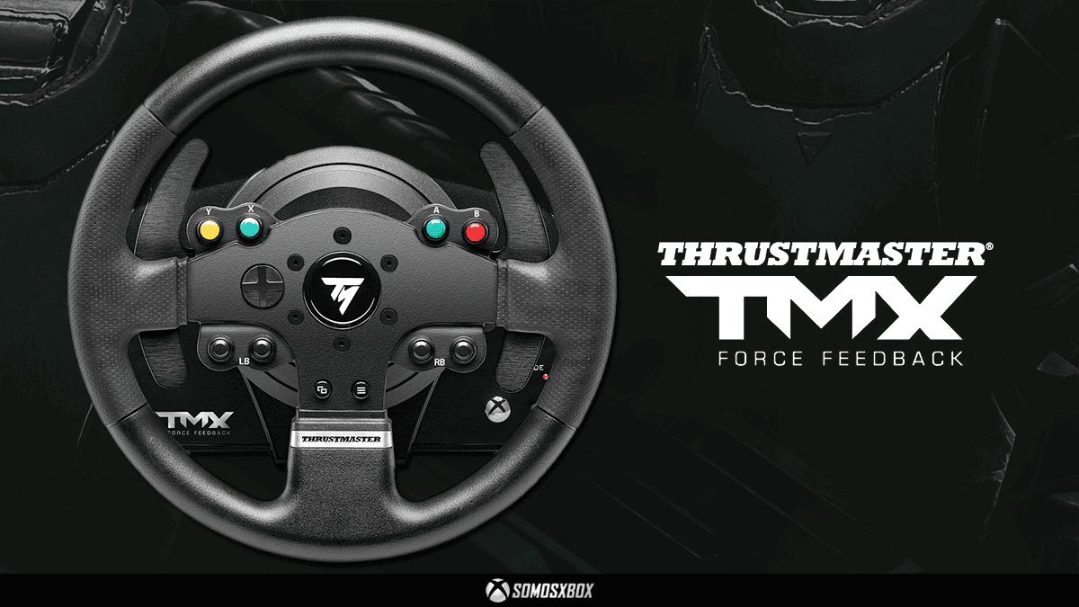 Consigue el Volante Thrustmaster TMX Force Feedback de segunda mano para Xbox a un precio increíble 5