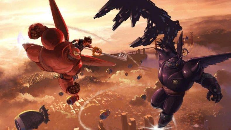 Nuevo tráiler de Kingdom Hearts 3, sueña con Big Hero 6 1