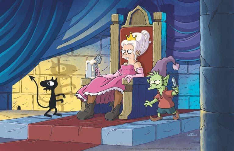 Tráiler de (Des)encanto lo nuevo de Matt Groening en Netflix 1