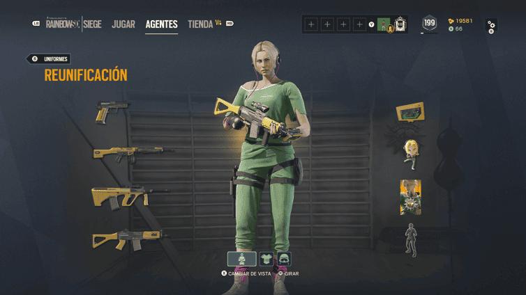 Todas las skins Elite de Rainbow Six Siege disponibles 5