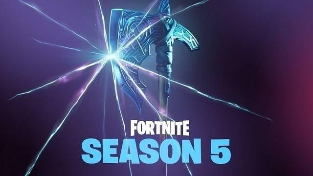 As es la temporada 5 de fortnite y su battle royale for Fortnite temporada 5 sala