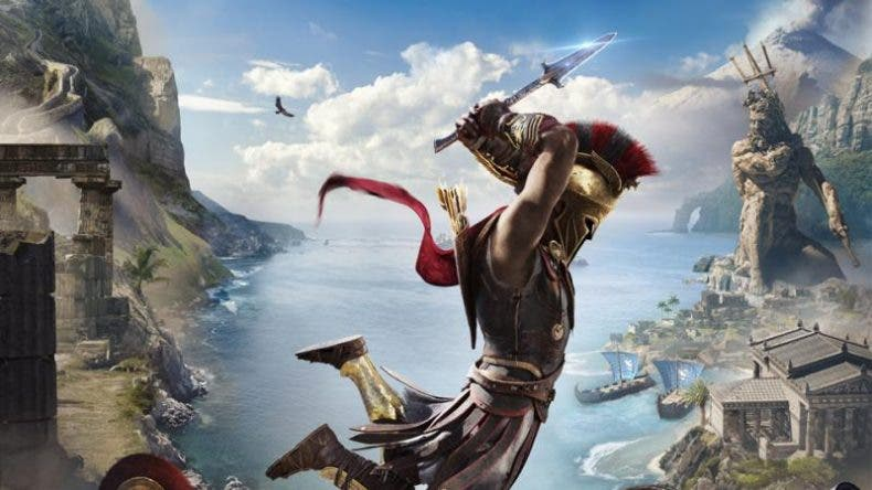 Assassin's Creed Odyssey luce espectacular con Ray Tracing 1