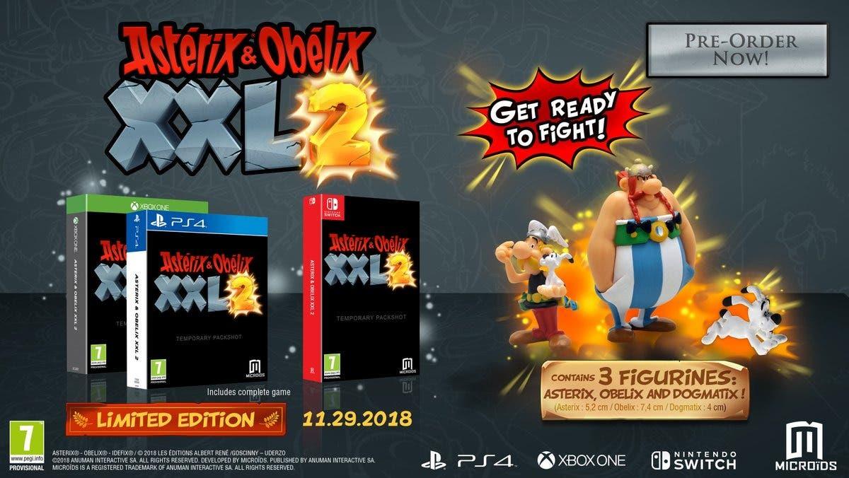 Astérix & Obélix XXL 2 Remake para Xbox One y edición coleccionista, ¡por Tutatis! 2