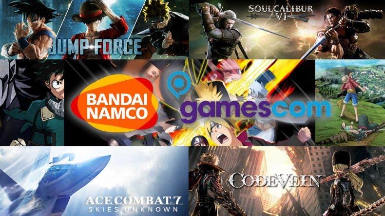 Bandai Namco adelanta su line-up para la Gamescom 2018 1
