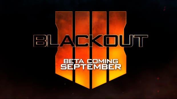La beta del Battle Royale de Call of Duty: Black Ops 4 llegará en septiembre 1