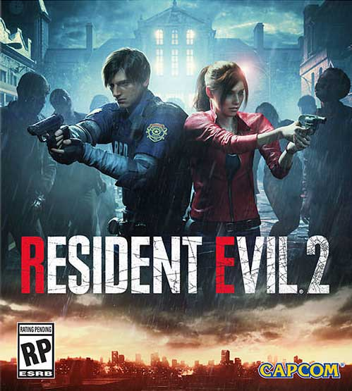 Esta es la portada de Resident Evil 2 2