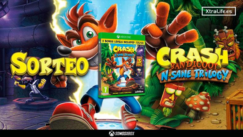 Sorteamos un Crash Bandicoot N. Sane Trilogy para Xbox One 1