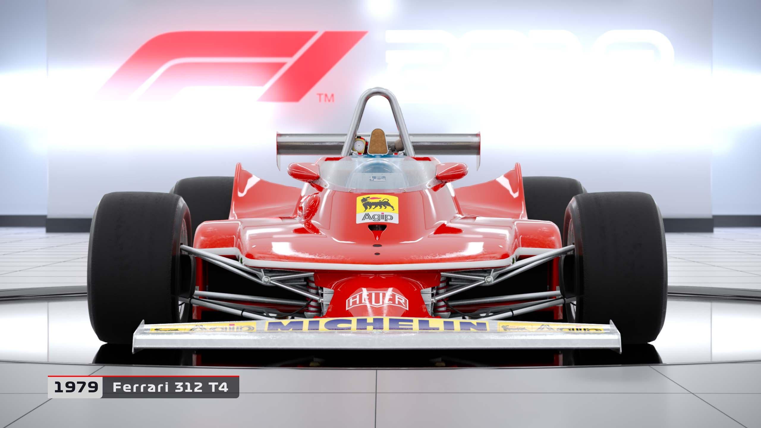 Estos son los coches clásicos que podrás pilotar en F1 2018 2