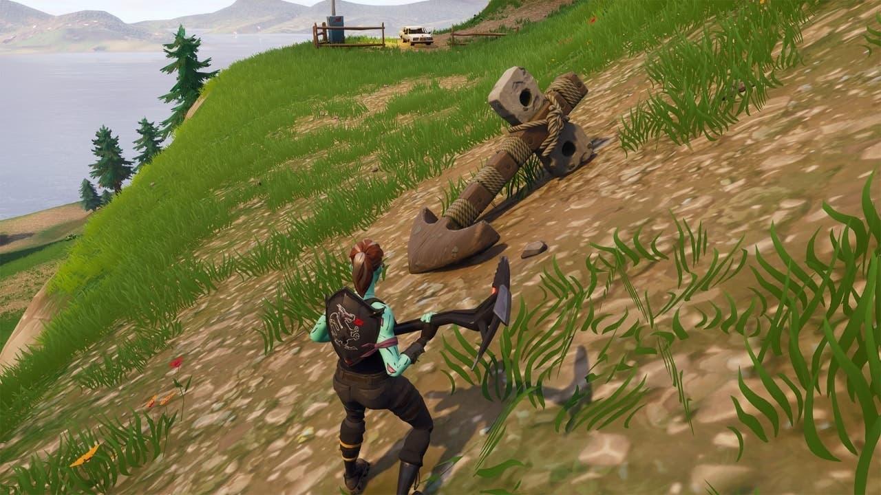 Un ancla aparece en Fortnite desatando el misterio 2