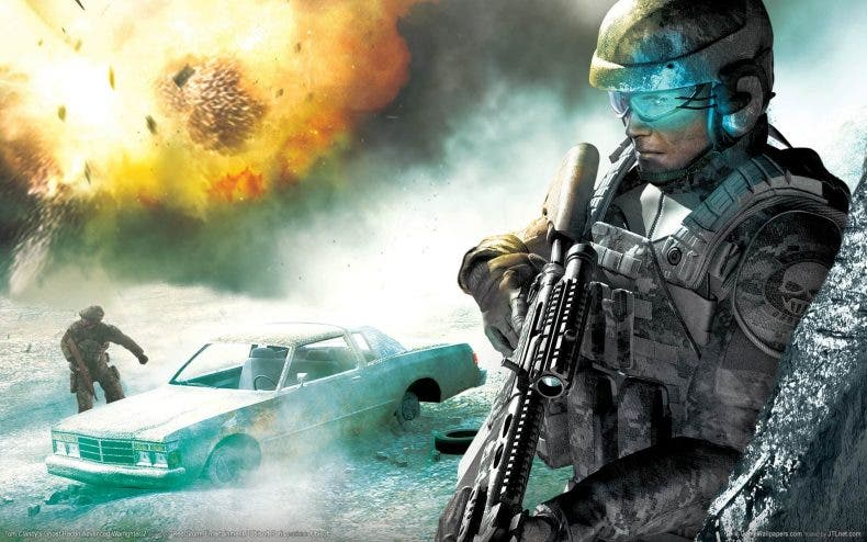 Rendimiento de Ghost Recon Advanced Warfighter entre Xbox One X y 360 1