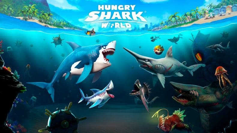 Ubisoft hace llegar Hungry Shark World a Xbox One 1