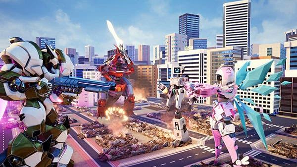 Descubre Override: Mech City Brawl, grandes robots y destrucción, confirmado para Xbox One 1